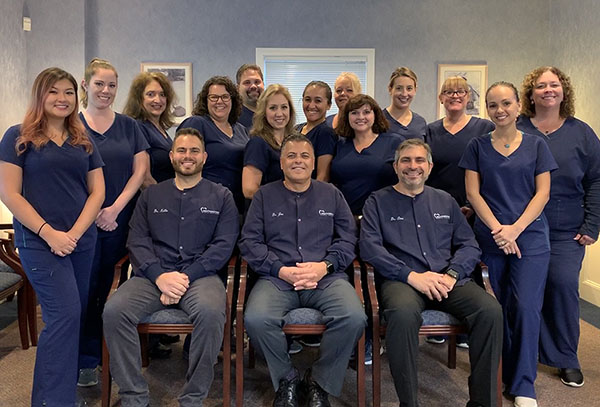 Group photo of outstanding team from Southington Family Dentistry